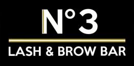 No3 Lash and Brow Bar - Beauty Salon Truro Cornwall - Logo