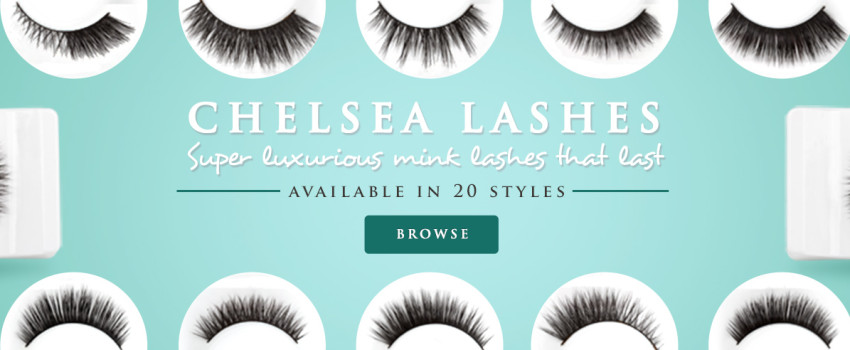Chelsea Lashes - Super luxurious mink lashes that last - Available in 20 styles